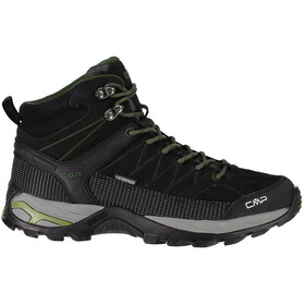 CMP Campagnolo M's Rigel Mid WP Trekking Shoes Black-Loden